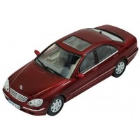 MERCEDES S500 (W220), 2000, met.d.red