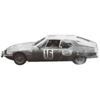 CITROËN SM Rally Maroc'71 #16, winner J.Deschaseaux / J.Plassard