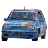 RENAULT 5 GT Turbo Rally TdCorse'90 #21, 7th C.Balesi / JP.Cirindini