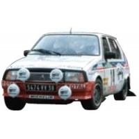 CITROËN Visa Rally Portugal'82 #14, 5th A.Coppier / J.Laloz