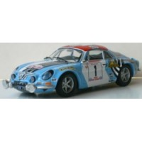 ALPINE A110 1800S Rally TourDeCorse73 #1, winner Nicolas / Vial