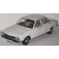 AUDI 100 4-p, 1971 blanc
