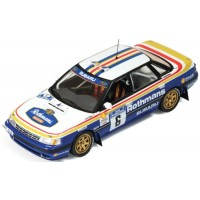 SUBARU Legacy RS Rally Manx'91 #6, winner C.McRae / D.Ringer