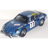 ALPINE A110 Rally TAP'72, 2nd B.Darniche / Mahé