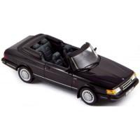 SAAB 900 Cabrio Turbo'91, noir