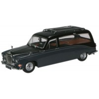 DAIMLER DS 420 Hearse, black/carlton grey
