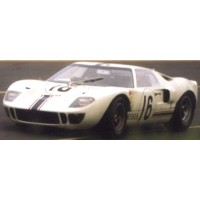 FORD GT40 LeMans'67 #16, (ab) H.Greder / P.Dumay