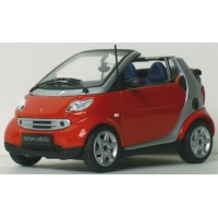 SMART Fortwo Cabrio'01, rouge