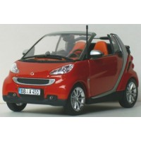 SMART Fortwo Cabrio'07, rouge