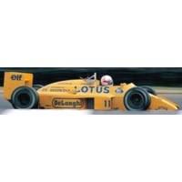 LOTUS 99T GP GreatBritain'87 #11, 6th S.Nakajima