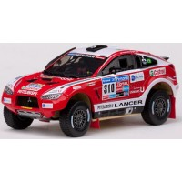 MITSUBISHI Racing Lancer Rally Dakar'11 #310, G.Spinelli / H.Youssef