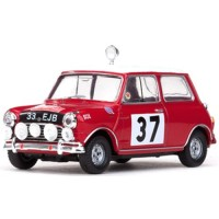 MORRIS Cooper Rally MonteCarlo'64 #37, winner P.Hopkirk / H.Liddon