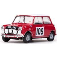 MORRIS Cooper Rally MonteCarlo'64 #105, 7th R.Aaltonen / A.Ambrose