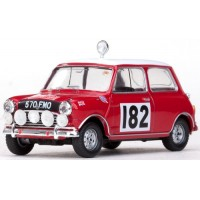 MORRIS Cooper Rally MonteCarlo'64 #182, 4th T.Makinen / P.Vanson