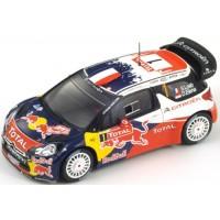 CITROËN DS3 WRC Rally MonteCarlo'12 #1, winner S.Loeb / D.Elena