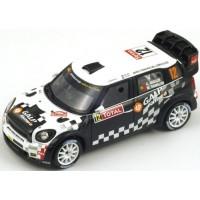MINI John Cooper Works WRC Rally MonteC.'12 #12, 10th A.Araujo / M.Ramalho