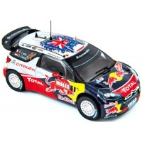 CITROËN DS3 WRC Rally GB'11  #1, World Champion Loeb / Elena