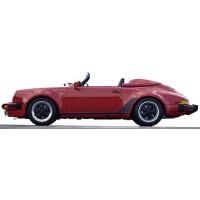 PORSCHE 911 Carrera 3.2 Speedster, 1989, indischrot