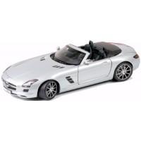MERCEDES SLS AMG Roadster, met.silver