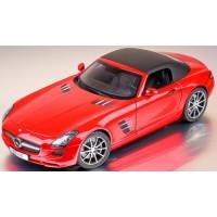 MERCEDES SLS AMG Roadster, le mans red