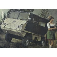 STEYR-PUCH Haflinger, closed