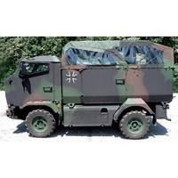 KMW Mungo Bundeswehr, camouflage