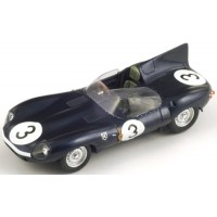 JAGUAR D LeMans'57 #3, winner L. Bueb / R.Flockhart