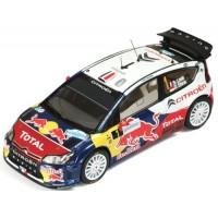 CITROËN C4 WRC Rally France'10 #1, winner S.Loeb / D.Elena