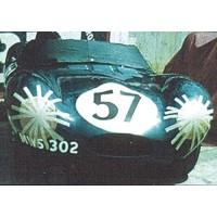 JAGUAR D LeMans'57 #58, (ab) M.Charles / J.Young