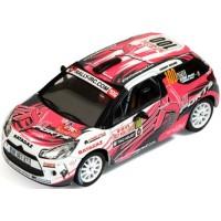 CITROËN DS3 R3 Rally MonteCarlo'11 #100, D.Elena / O.Campana