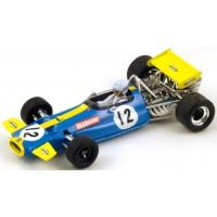 BRABHAM BT33 GP SouthAfrica'70 #12, winner J.Brabham