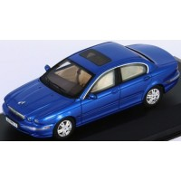 JAGUAR X-type, 2004, blue