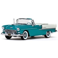 CHEVROLET Bel Air Cabriolet open, 1955, regal turquoise