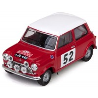 MORRIS Cooper S Rally MonteCarlo'65 #52, winner T.Makinen / P.Easter