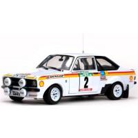 FORD Escort Mk2 RS 1800 Rally Portugal'77 #2, 2nd B.Waldegard / H.Thorszelius