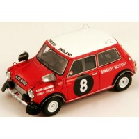 MINI Cooper Rally East African Safari'67 #8, R.Aaltonen / H.Liddon