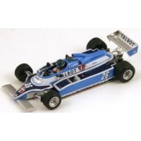 LIGIER JS17 GP Canada'81 #26, winner J.Laffite