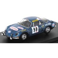 ALPINE A110 Rally TAP'71 #98 , 3rd B.Neyret / Terramorsi