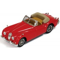 JAGUAR XK140 Convertible, 1956, red