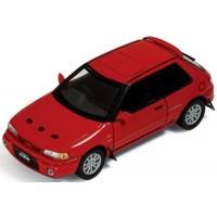 MAZDA 323 GTR, 1991, red