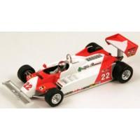 ALFA ROMEO 179C GP LongBeach'81 #22, 4th M.Andretti