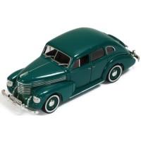 OPEL Kapitän 4-door Sedan, 1939, green (brown interiors)