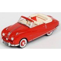 AUSTIN A90 Atlantic Convertible, 1949, red