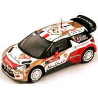 CITROËN DS3 WRC Rally MonteCarlo'13 #1, winner S.Loeb / D.Elena