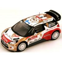 CITROËN DS3 WRC Rally MonteCarlo'13 #2, 4th M.Hirvonen / J.Lehtinen