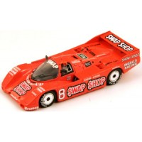 PORSCHE 962 12h Sebring'85 #8, winner B.Wollek / AJ.Foyt