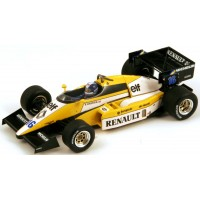 RENAULT RS50 GP GreatBritain'84 #16, 2nd D.Warwick