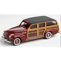 BUICK Model 59 Station Wagon, 1940, royal maroon poly