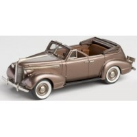 PONTIAC Deluxe Six 4-door Convertible, 1937, golden brown poly