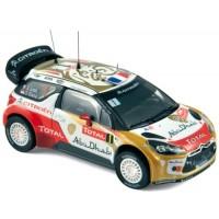 CITROËN DS3 WRC Rally MonteCarlo'13, winner Loeb / Elena
